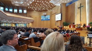 Korean Church Service